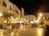 Lecce - piazza San Oronzo - notte